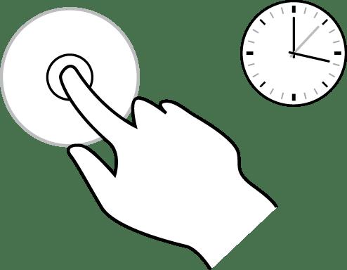 Uso de gestos