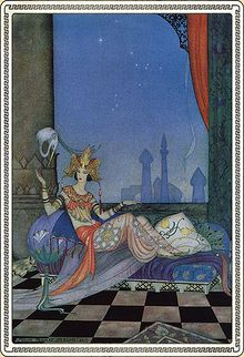 Les Mille Et Une Nuits Personnages : mille, nuits, personnages, Mille-et-une, Nuits, Vikidia,, L'encyclopédie