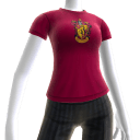 Gryffindor house crest on t-shirt