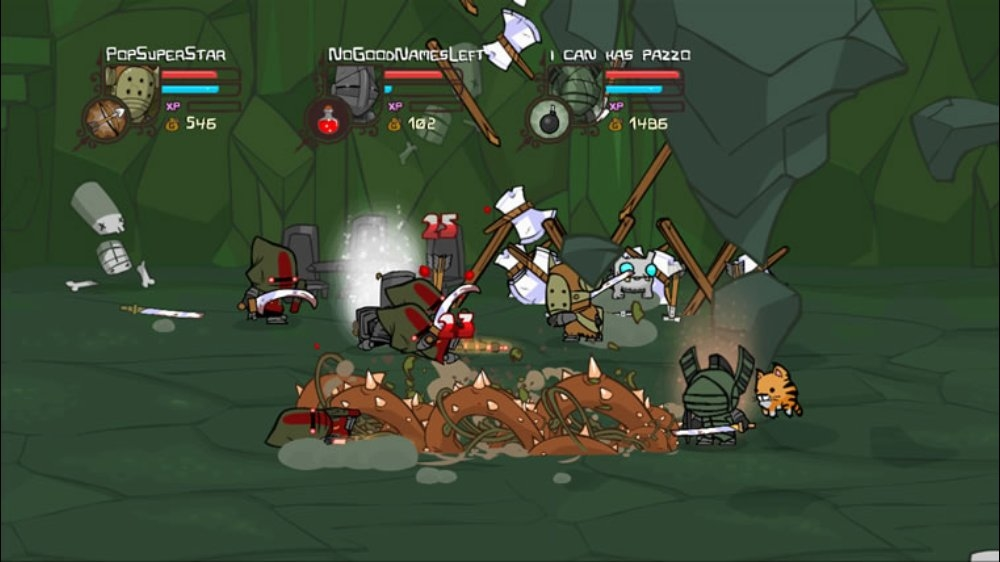 Characters Castle Unlock Crashers Pc Guide