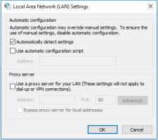 automatic LAN Setting