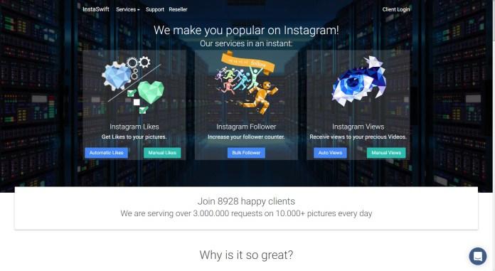 Instagram followers with Instaswift
