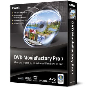 DVD MovieFactory Pro 7 Logo