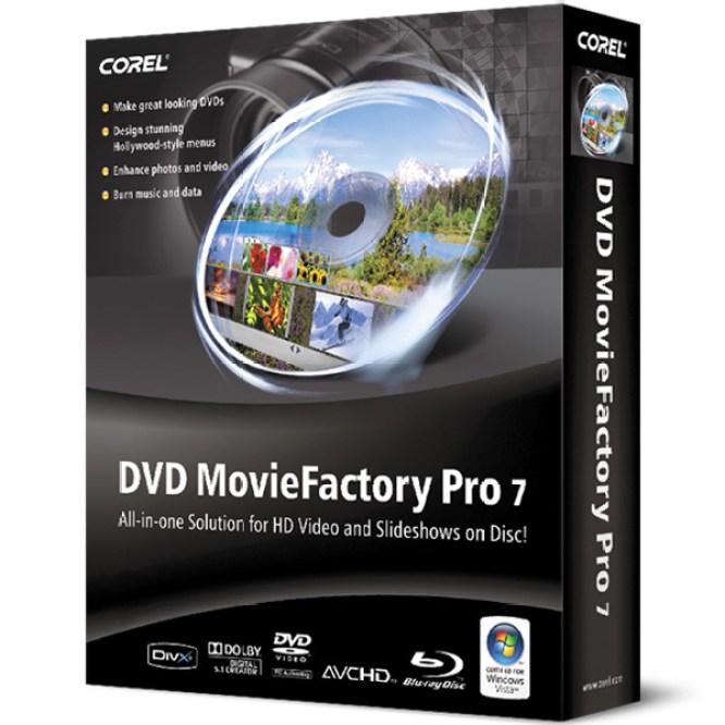 DVD MovieFactory Pro 7 Logo