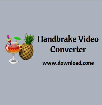 handbrake video converter software free download