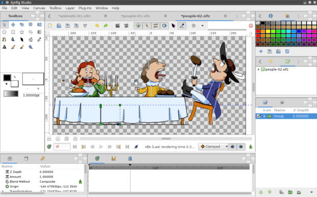 synfig studio animation