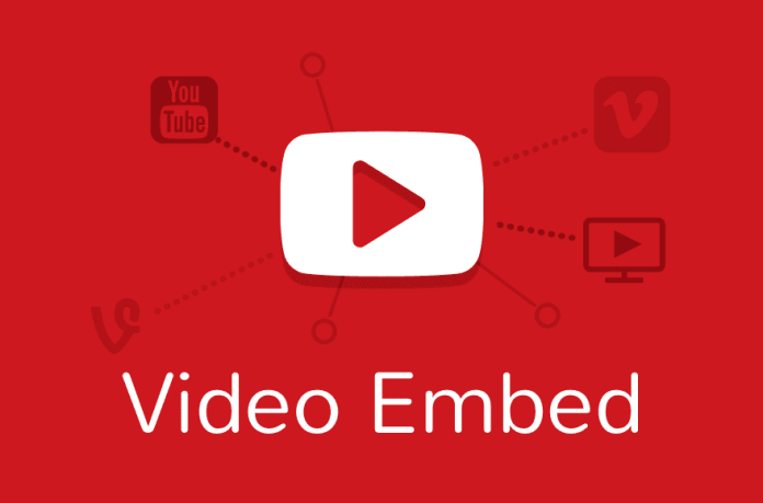 video embed