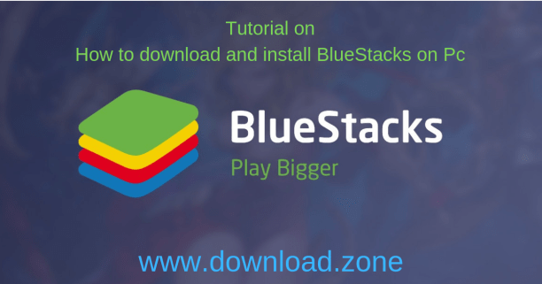 BlueStack android emulator for pc installation tutorial