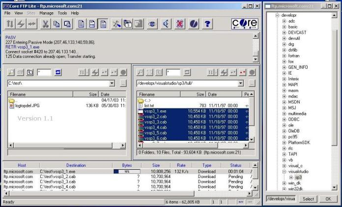 Core FTP Le Pic