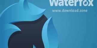 Waterfox banner