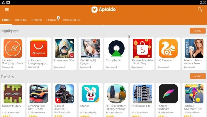 aptoide collection