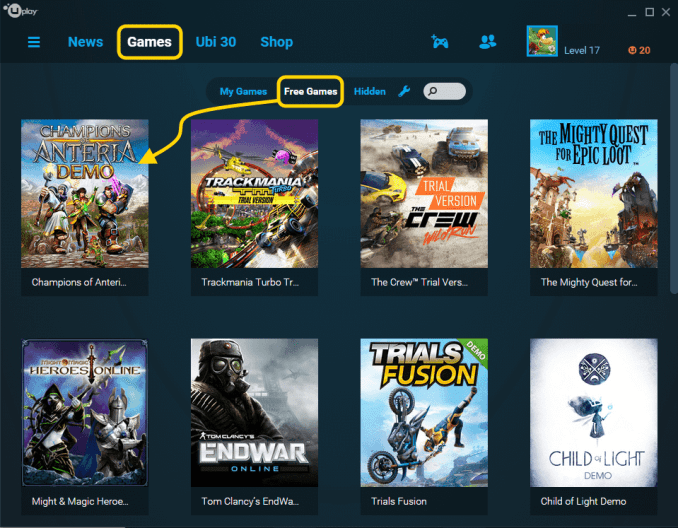 uplay games