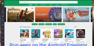 Run apps on the Android Emulator