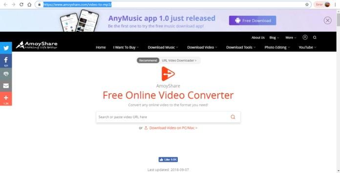 amoyshare video converter
