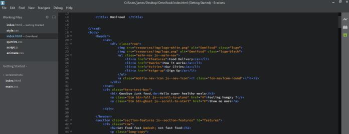 brackets coding
