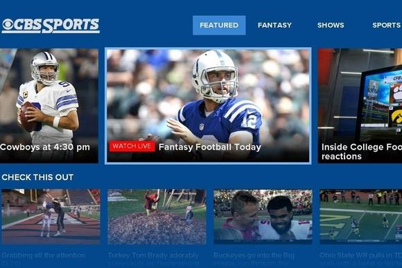 Live Sports TV Streaming-CBS