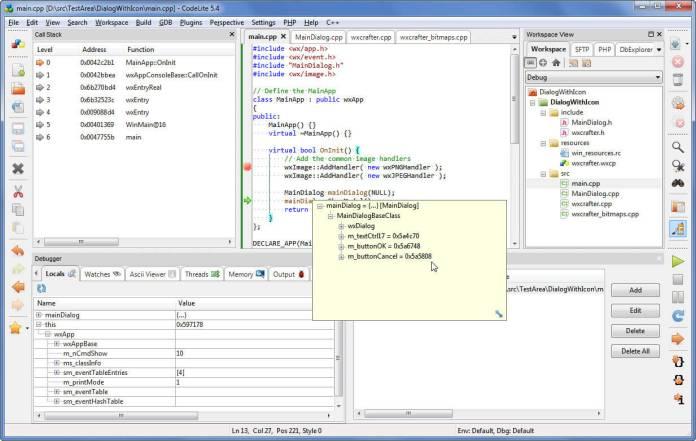 norm-codelite-debugging