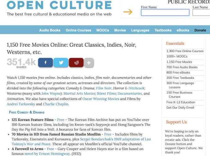 open-culture