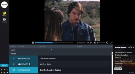 pluto tv free movies