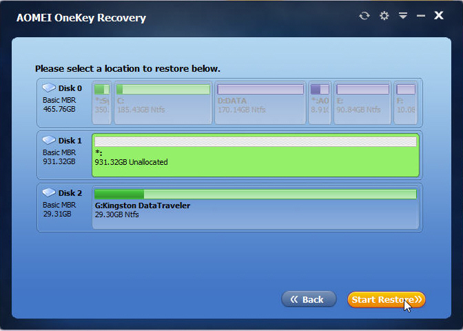 System Restore