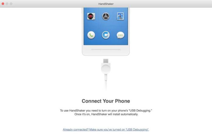 HandShaker USB Plugin yor smartphone