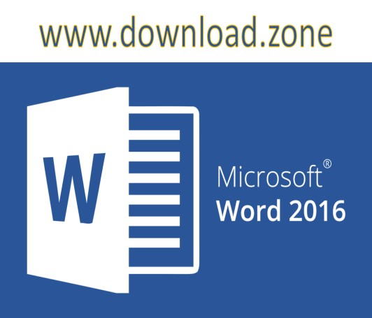 Microsoft Word 2016 logo