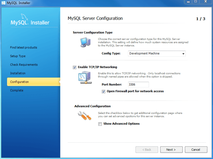install-mysql-step-8