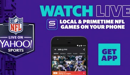 live sports streaming on yahoo sports app