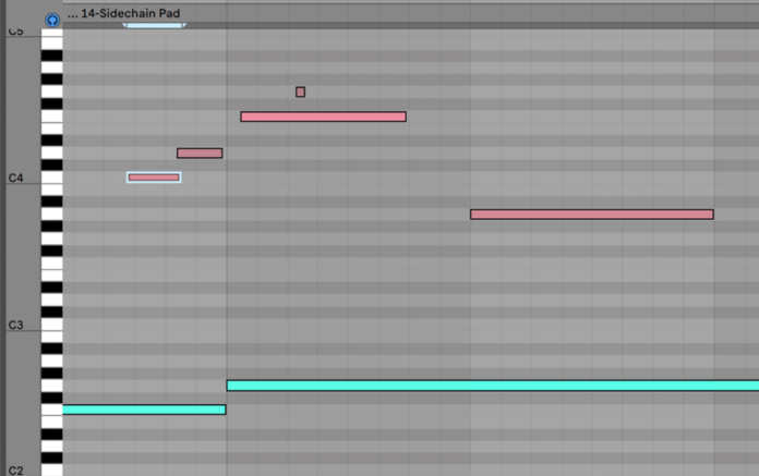 Multiple MIDI clip editing