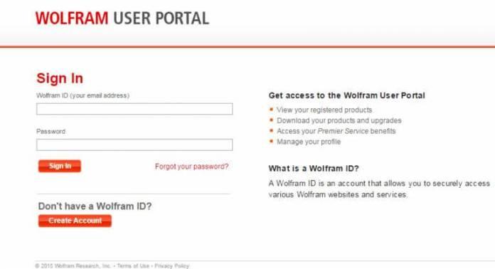 user portal