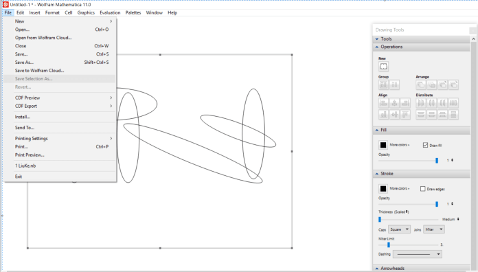 mathematica-drawing tool