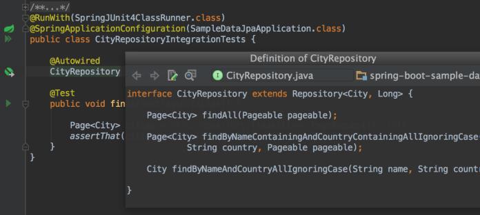 Editor-centric-environment
