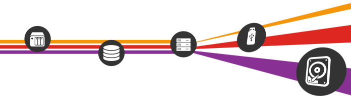 Sync external storage