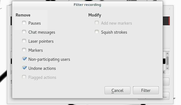 DrawPile Drawing Program Filter Recording