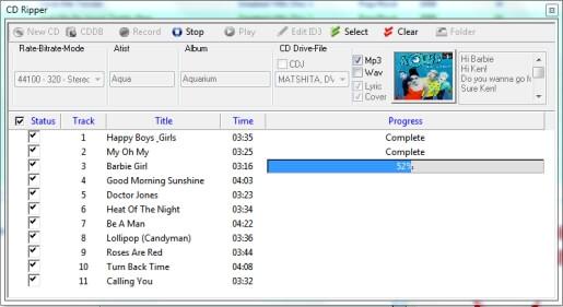 Advanced CD Ripper