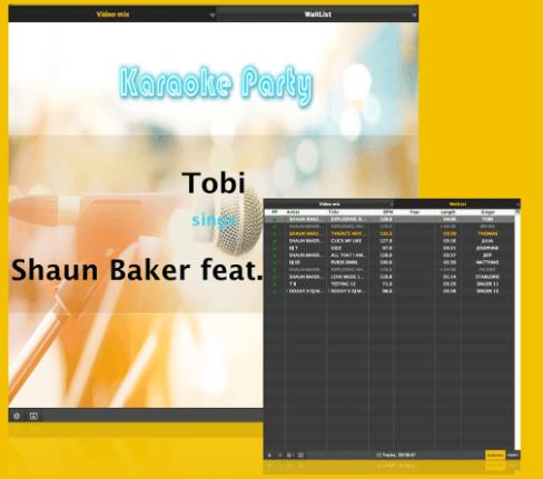 Karaoke Party Effect With UltraMixer Dj Software