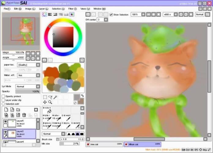 paint Tool Sai Paint