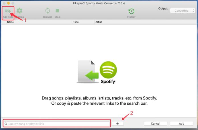 add-spotify-songs