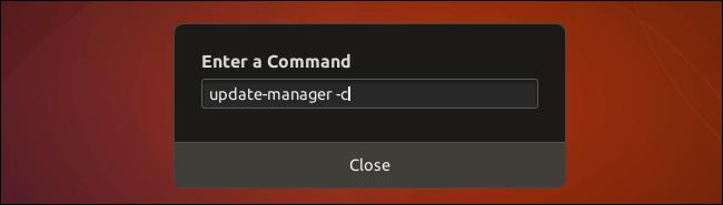 Enter Command
