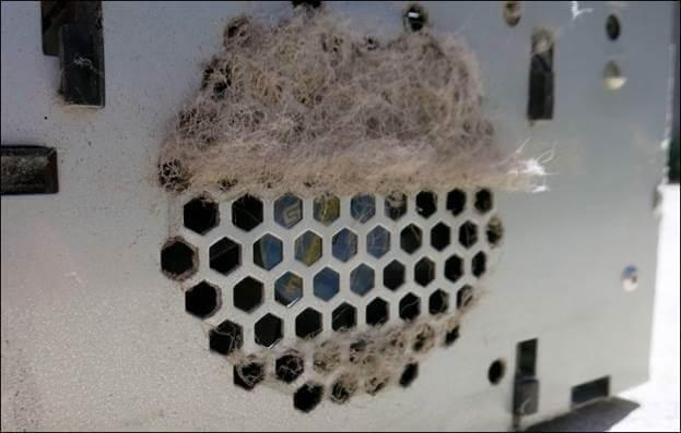 clean cpu vent