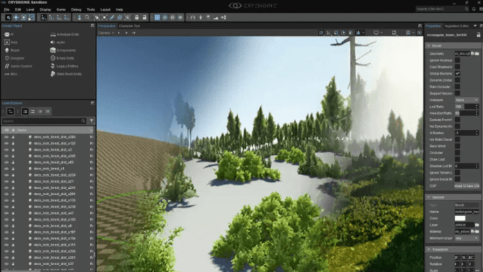 intuitive level design of Game Engine