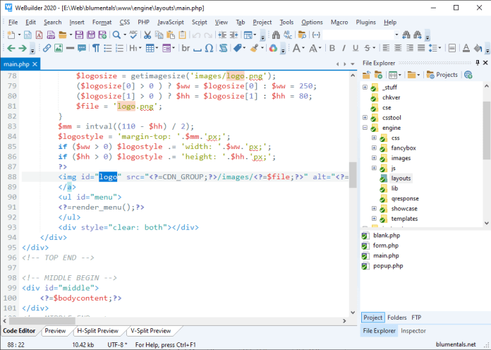 webuilder-2020-code-editor