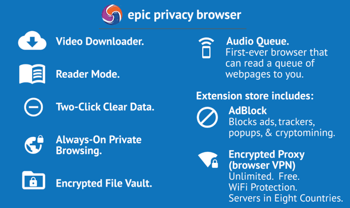 Epic Browser Features