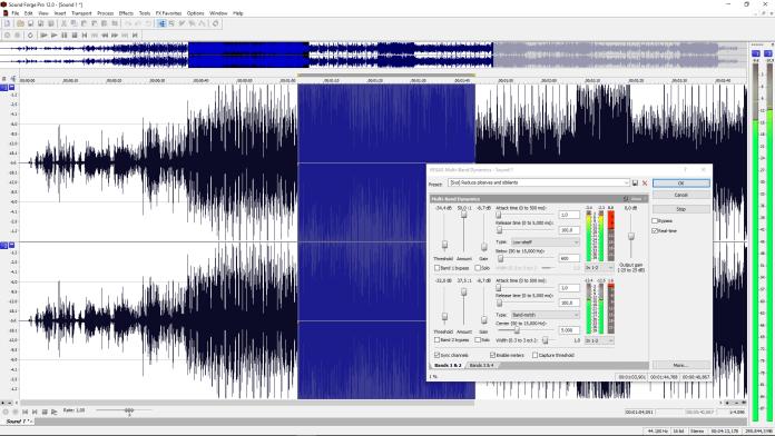 Sound Forge Editor