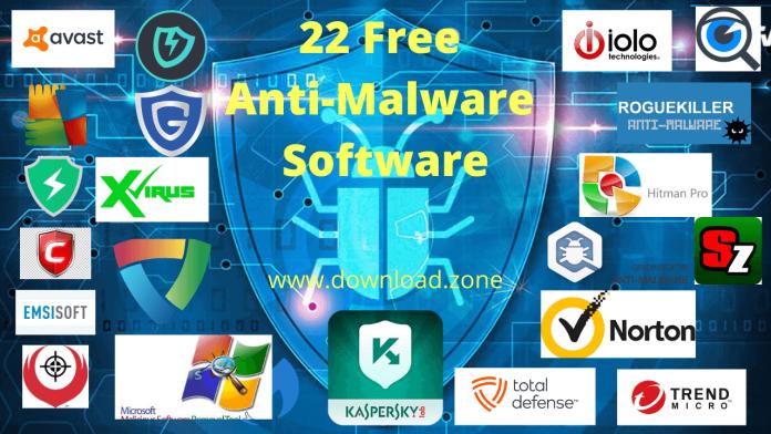 22 Free Anti-Malware Software