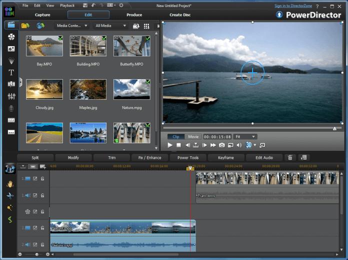 CyberLink PowerDirector Best Video Editor Software