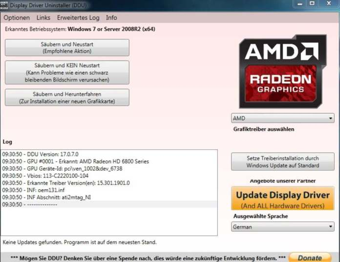 amd-uninstallation