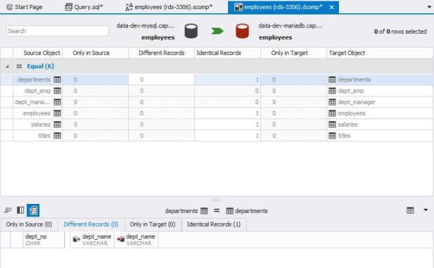 dbforge studio for mysql data comparison