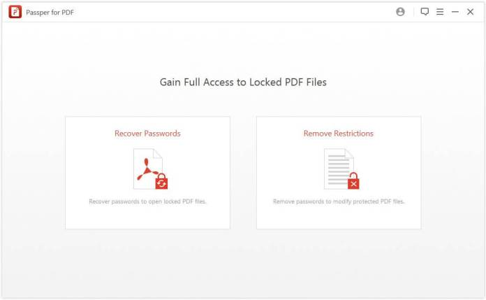 Gain Full Access to locked PDF Files