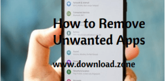 How to remove unwanted apps